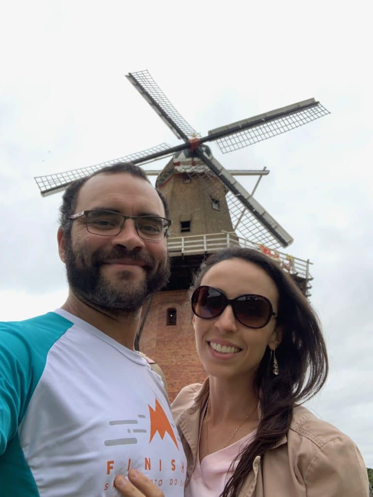 O maior moinho da América latina.