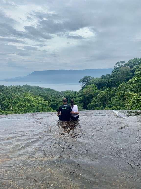 Vista da Cachoeira do Paquetá