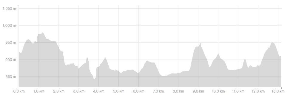 Altimetria do Cunha Move Trail