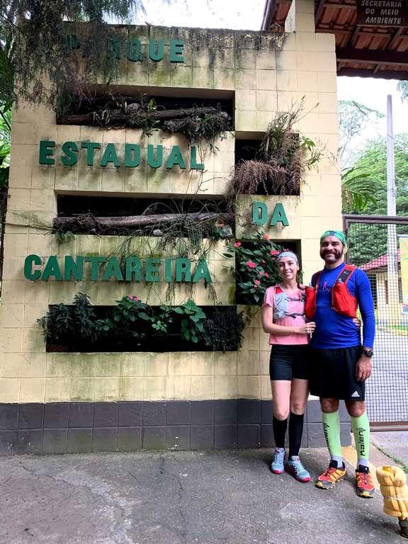 Entrada do Parque Estadual da Cantareira