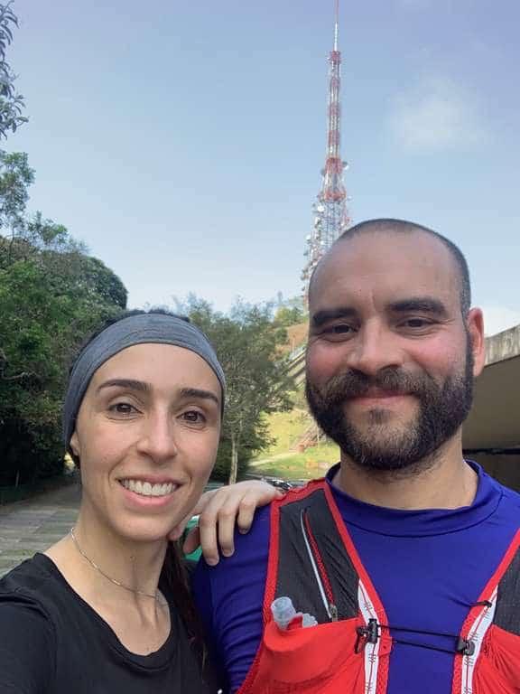 A bela e o bigode e a antena Pico do Jaraguá