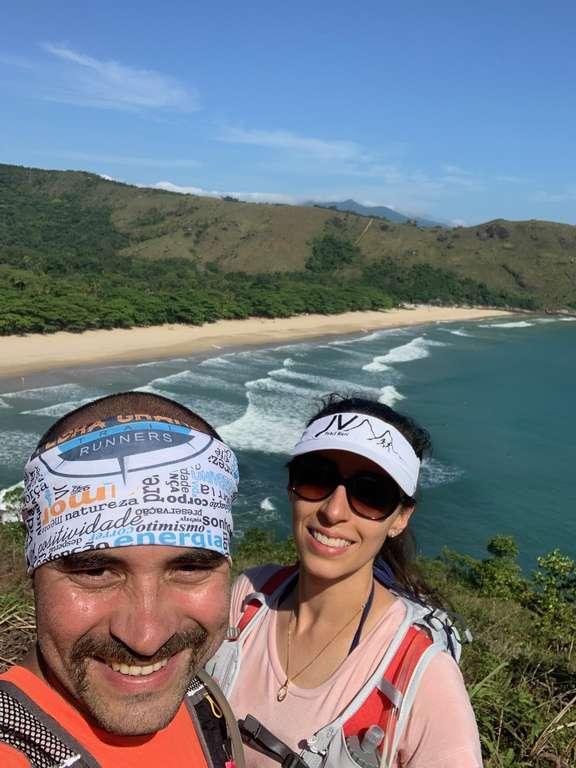 Praia do Bonete Ilhabela vista da trilha