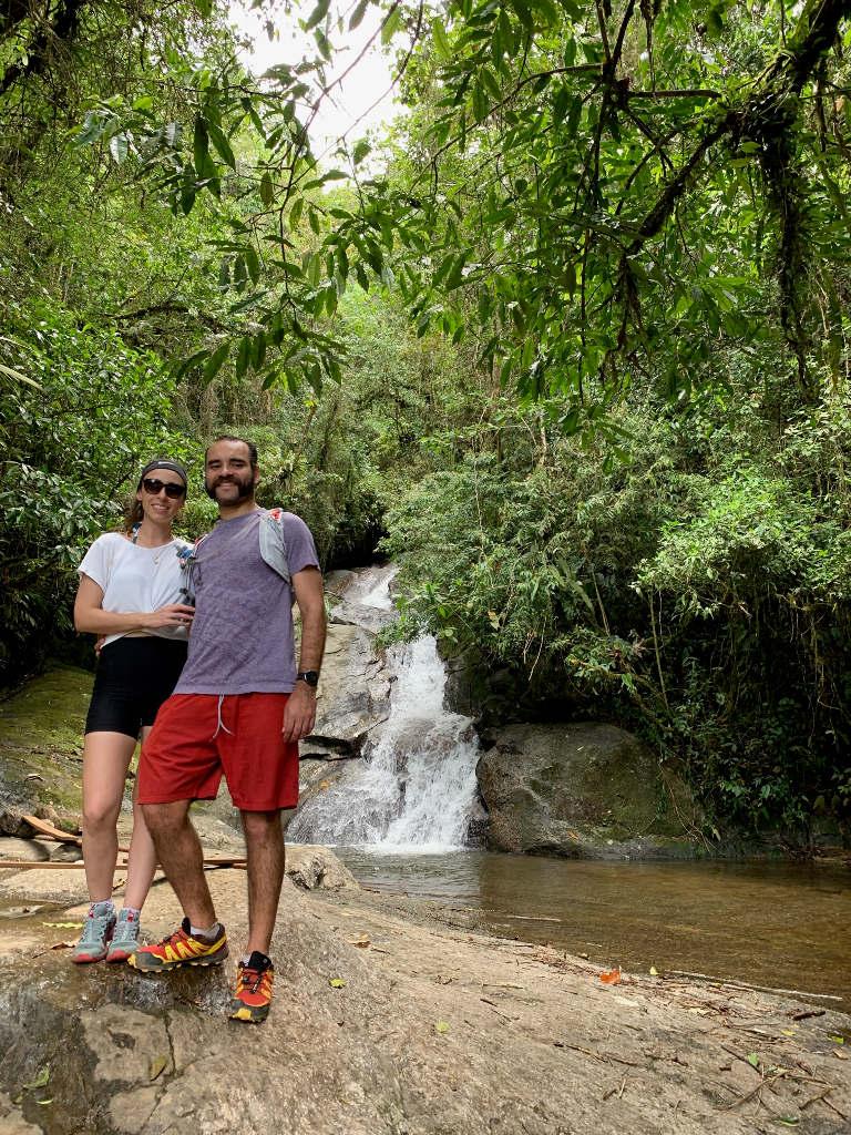 Vale Alcantilado -  cachoeiras com quedas baixas