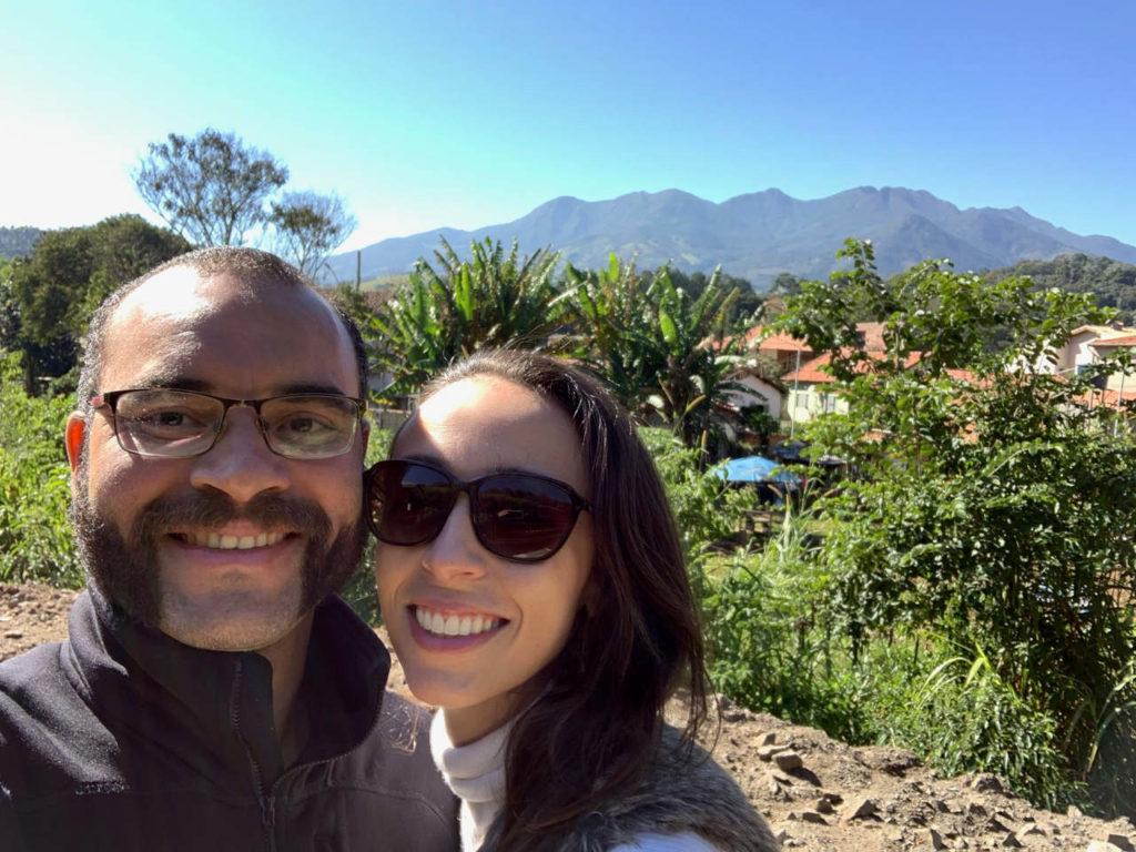 Vista do restaurante Taipas Branca dica de onde comer em Passa Quatro Minas Gerais