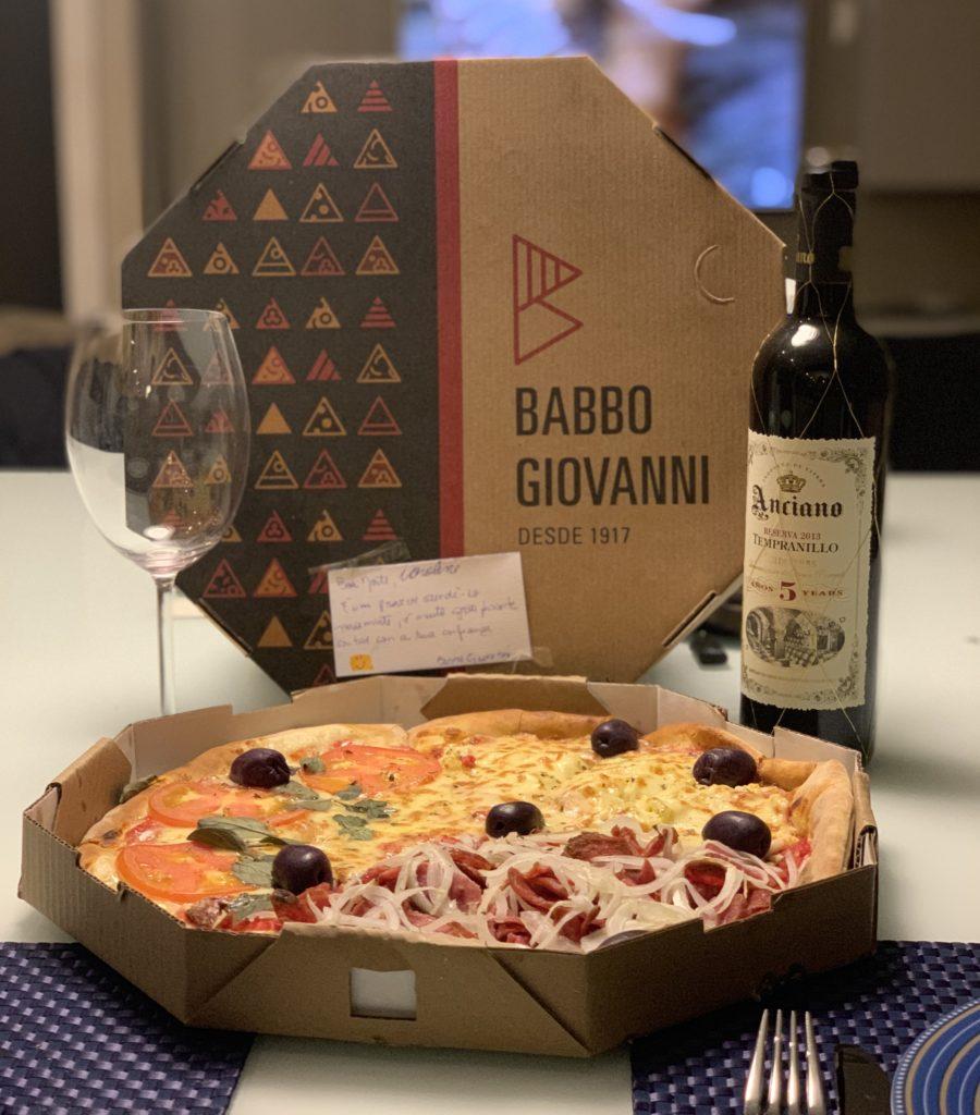 Onde pedir pizza na zona norte babbo giovanni