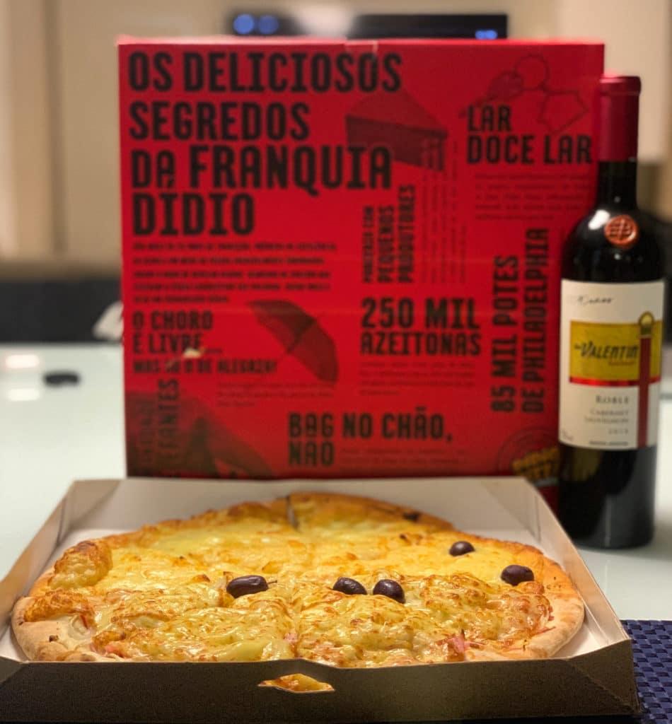 Gostamos muito mesmo a que a caixa veio desmanchado, mais uma dica de onde pedir pizza na zona norte