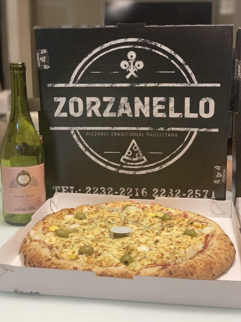 Adoramos a pizza com recheio na medida certa.