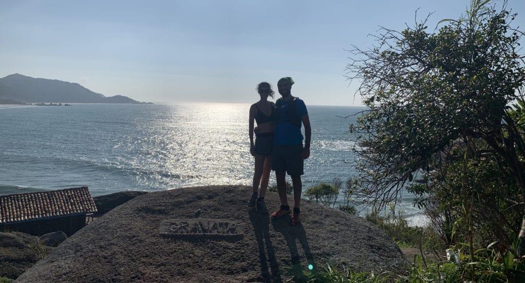Tentativa de foro na praia do Gravatá com sol