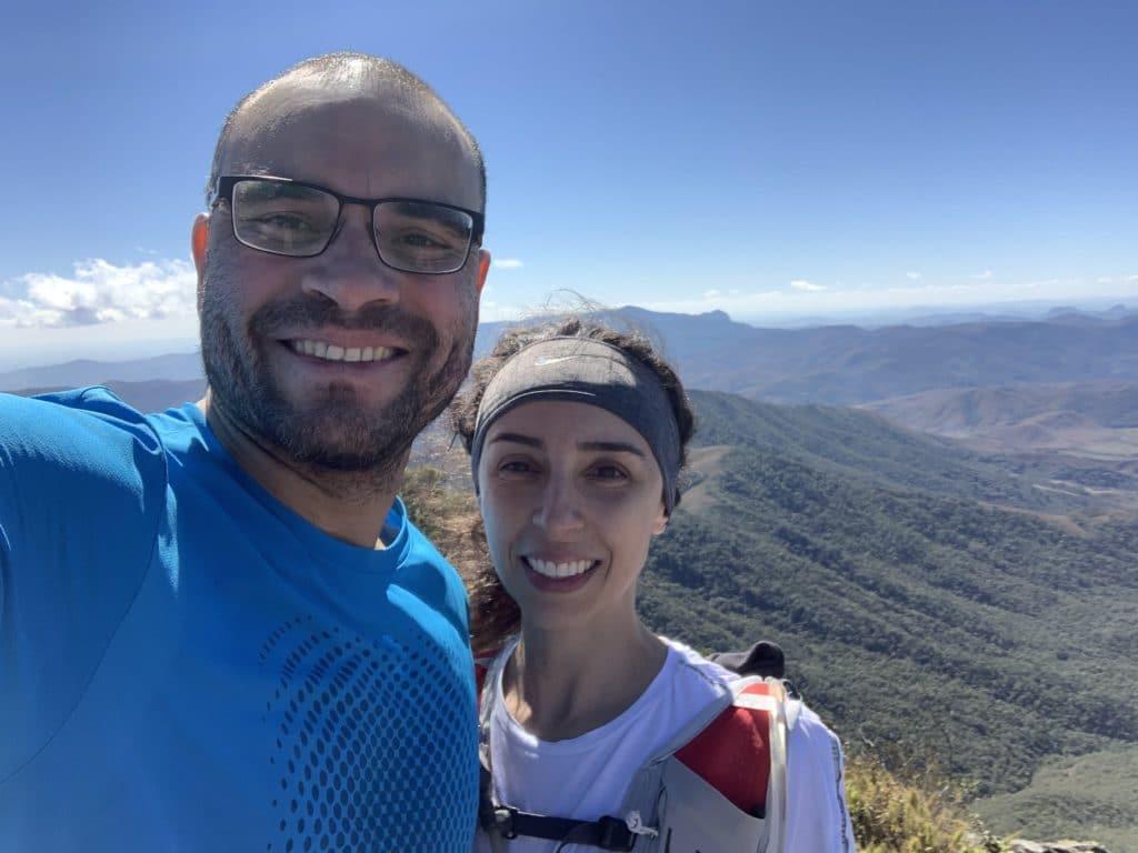 Vista do Parque Estadual da Serra do Papagaio.