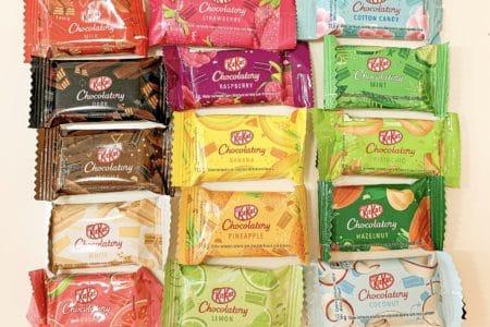 Kit Kat Chocolatory - tipos