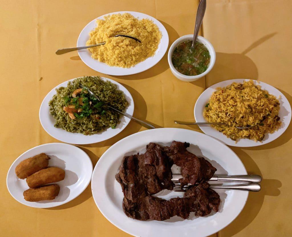 Nossa refeição e os diferentes tipos de de arroz