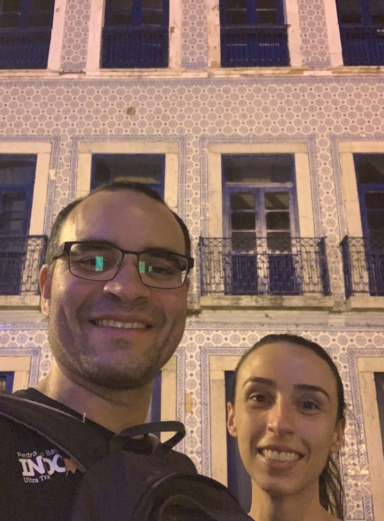 a bela e o bigode em São Luis