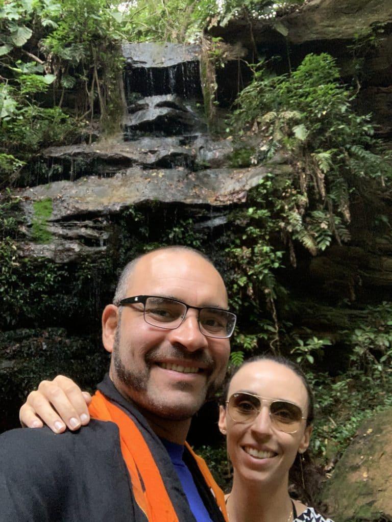 Cachoeira do Bugio em Taquaruçu junto com a do Evilson