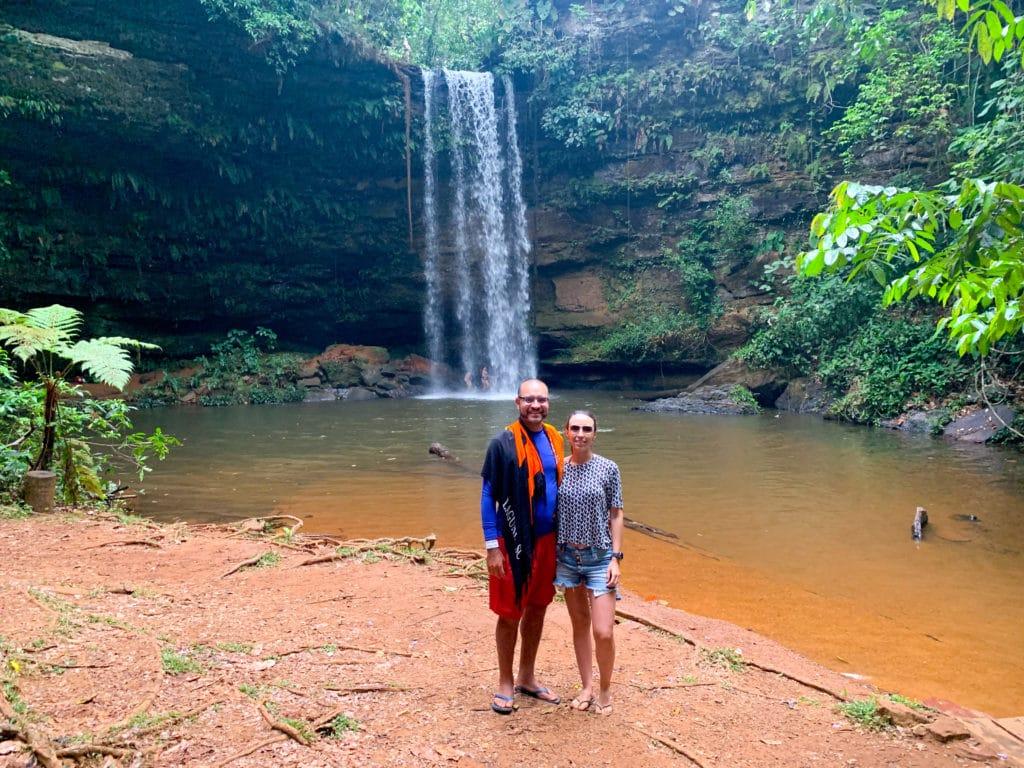 Cachoeira do Evilson em Taquaruçu do Porto