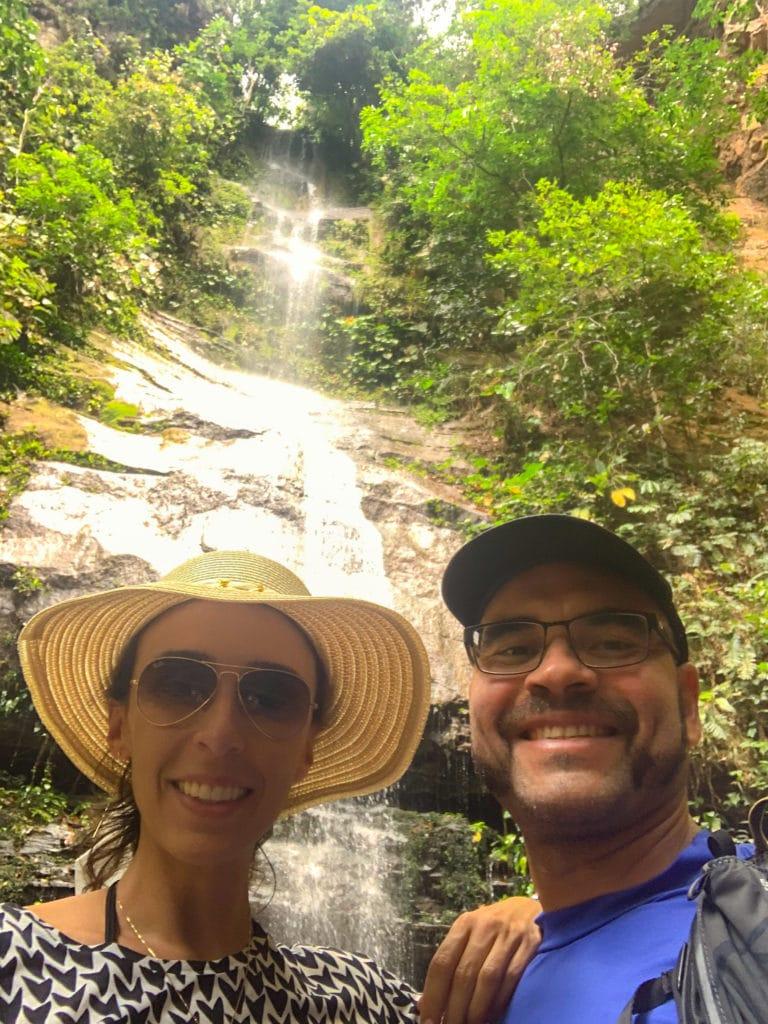 Cachoeira Escorrega Macaco em Taquaruçu  do Porto