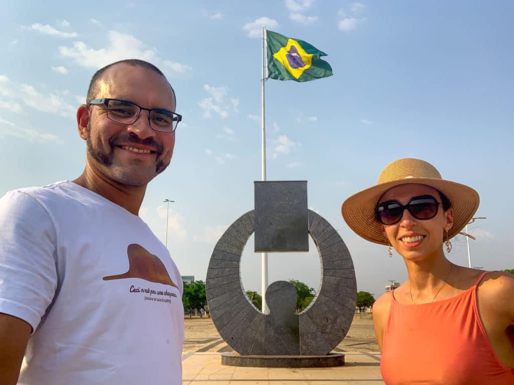 Centro geodésico do Brasil