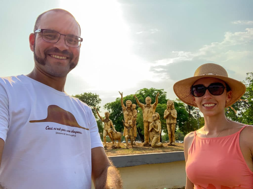 Monumento de Escultura dos pioneiros de Palmas