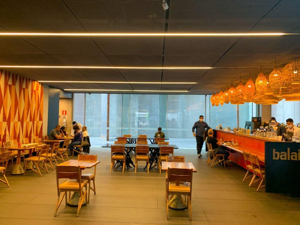 Balaio IMS restaurante Internamente