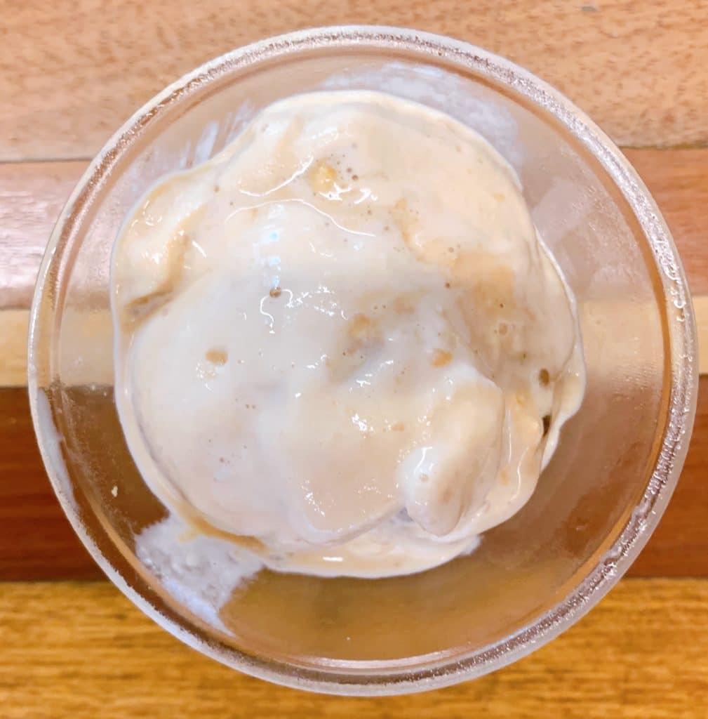 sorvete de rapadura delicioso