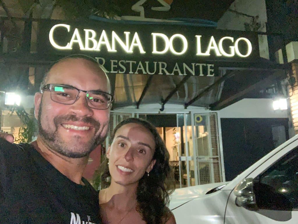Cabana do Lago Restaurante entrada