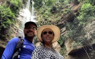 Cachoeira da roncadeira em taquarucu do Porto