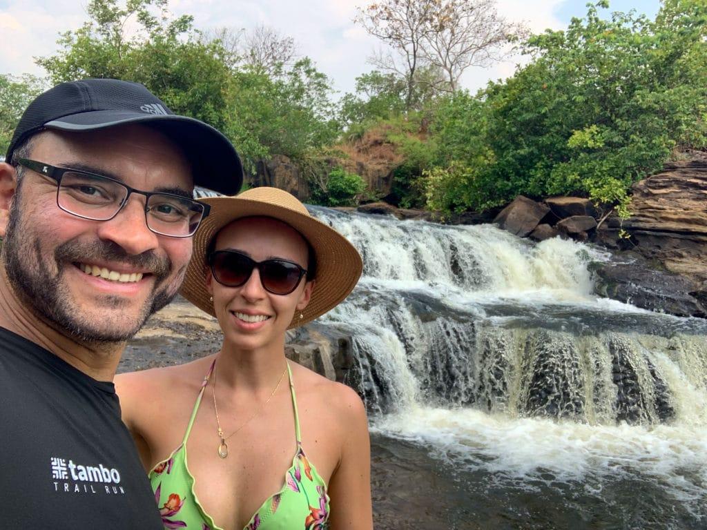 Cachoeira Viva Vida em sua extensão