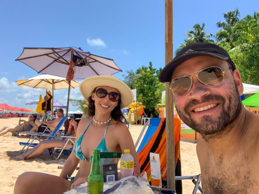 Ilha de Aleixo - Cadeiras de praia