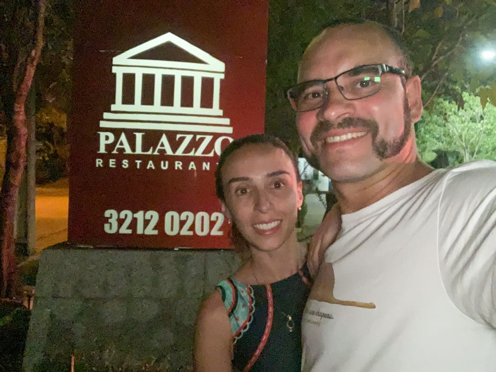 Palazzo Restaurante Entrada dica de onde comer em Palmas