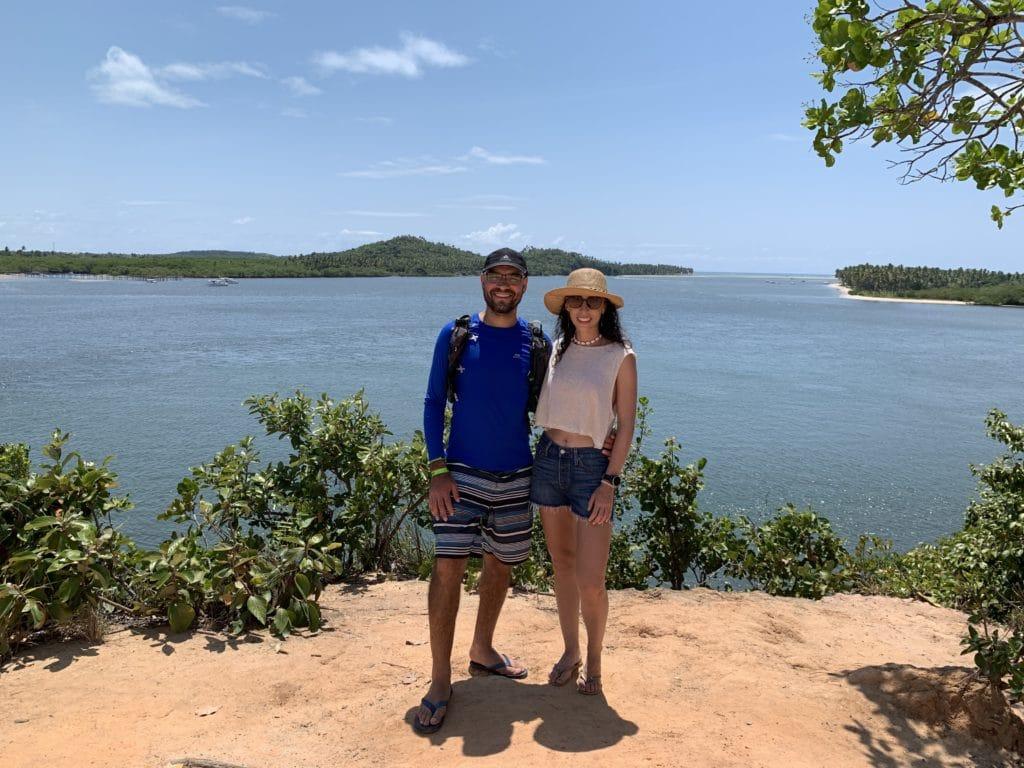 Imagem Jacaré na ilha