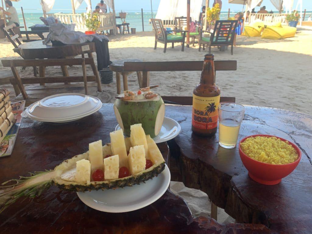 Restaurante Bora Bora Prato Principal