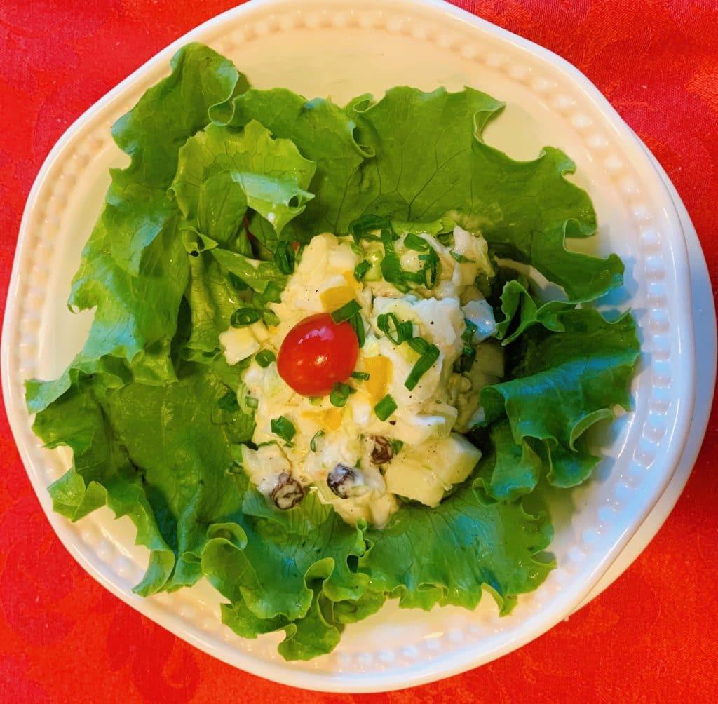 Salada no Restaurante Palazzo