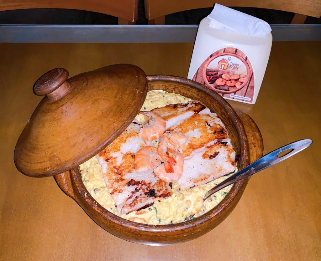 Tapéra do Sabor - Prato principal- peixe da tapera