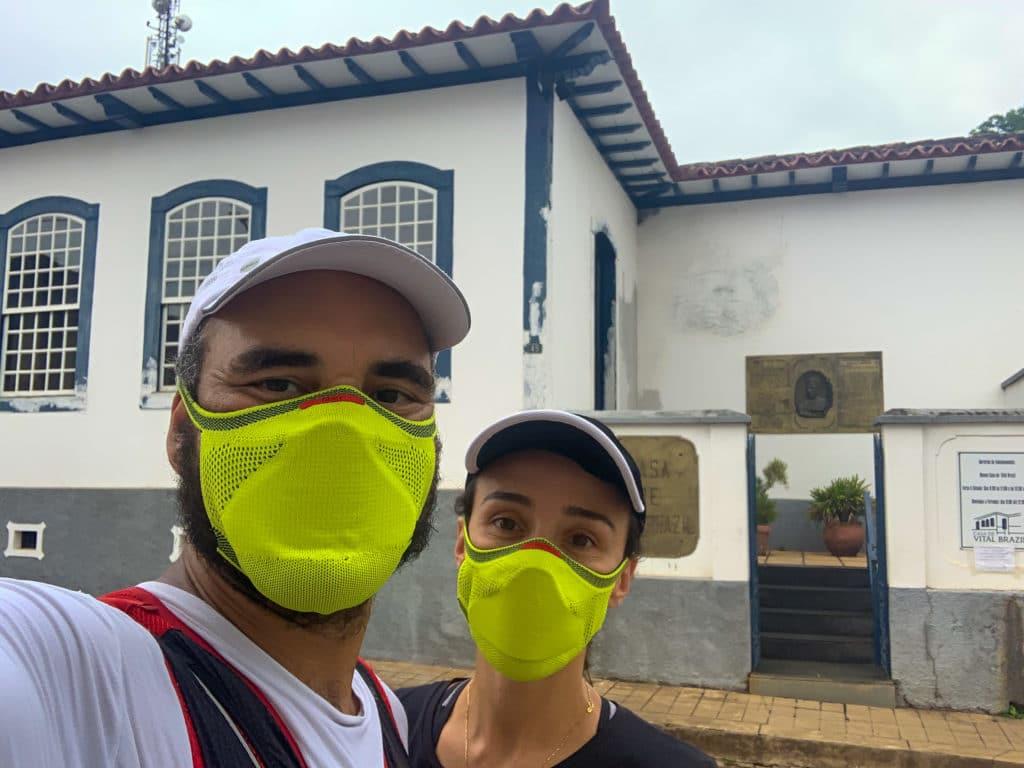 Entrada da casa de Vital Brasil em Campanha