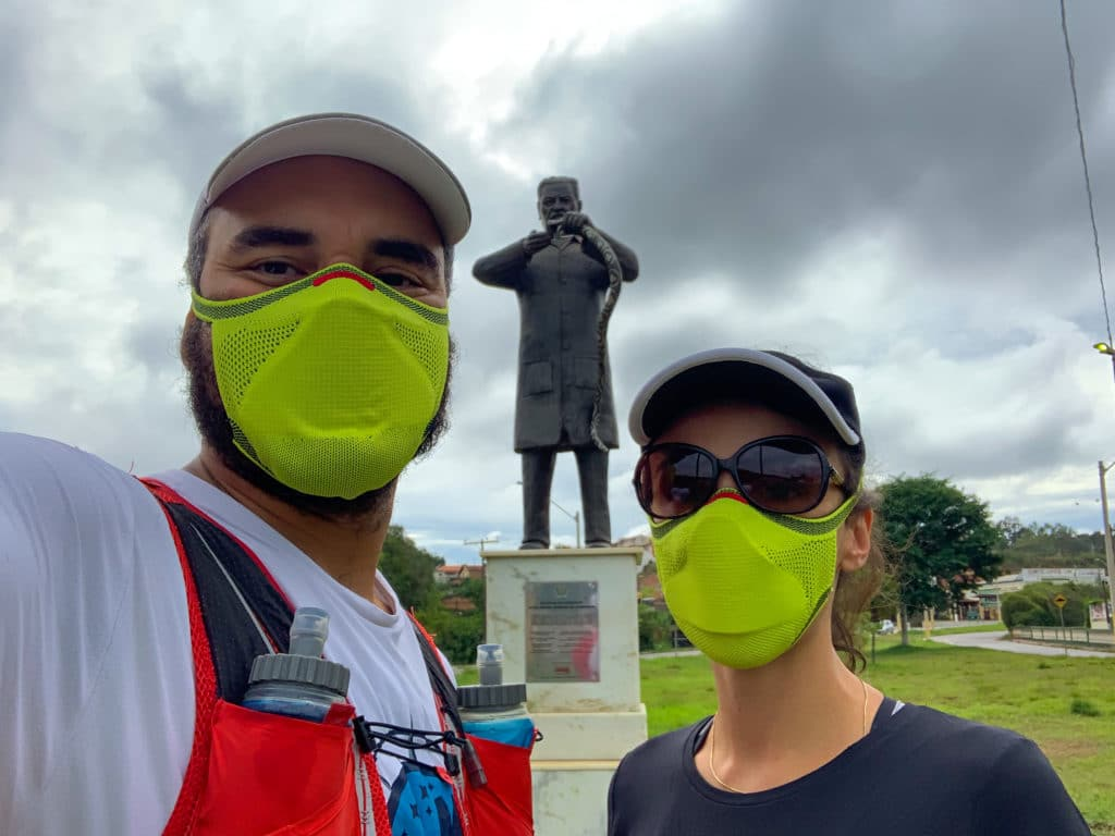 Estátua Vital Brasil em Campanha
