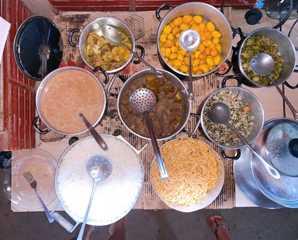 Foto da comida da Dona Almerinda