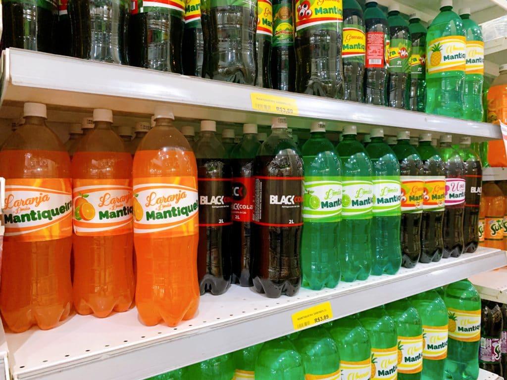 Refrigerante Mantiqueira Em seus vários sabores