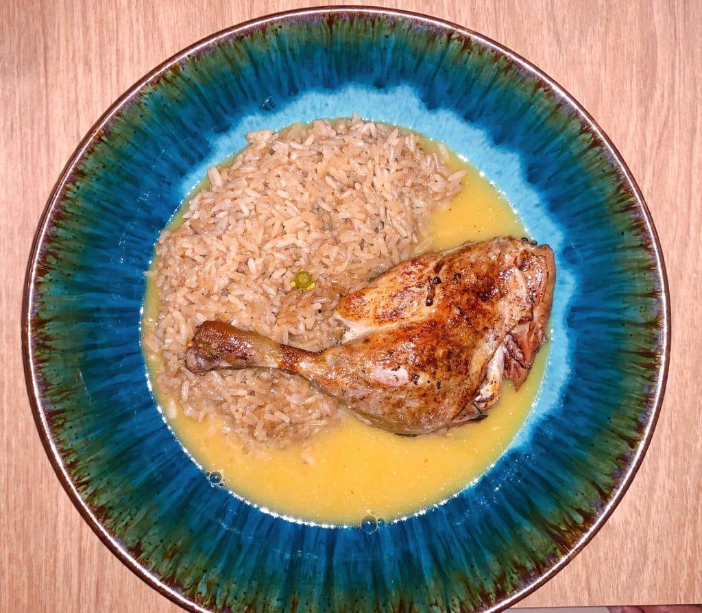 Pato no molho Tucupi e estava delicioso