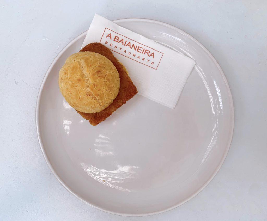A Baianeira Restaurante pão de queijo