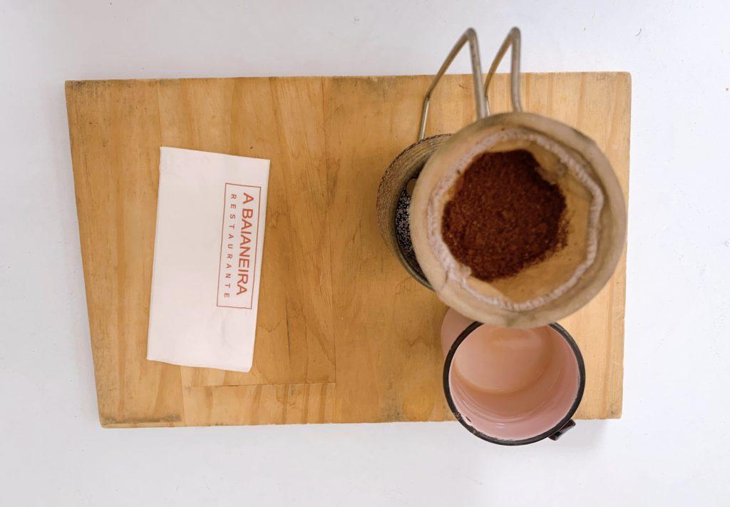 A baianeira restaurante café feito na hora