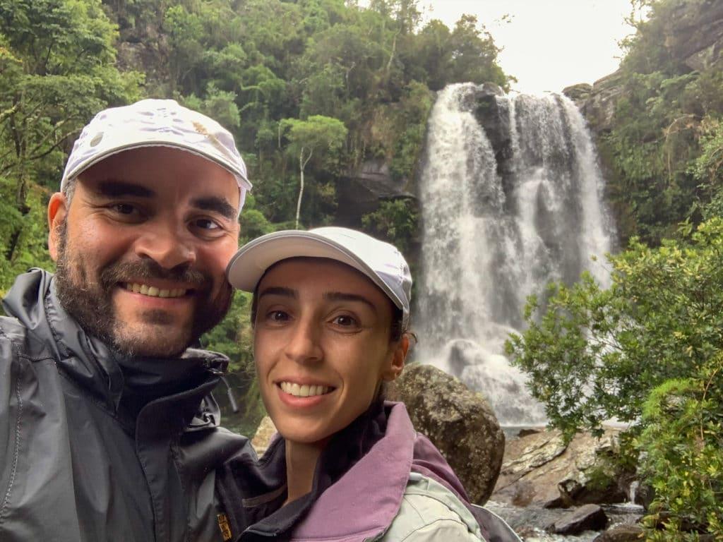 A grandiosidade da Cachoeira dos Garcias
