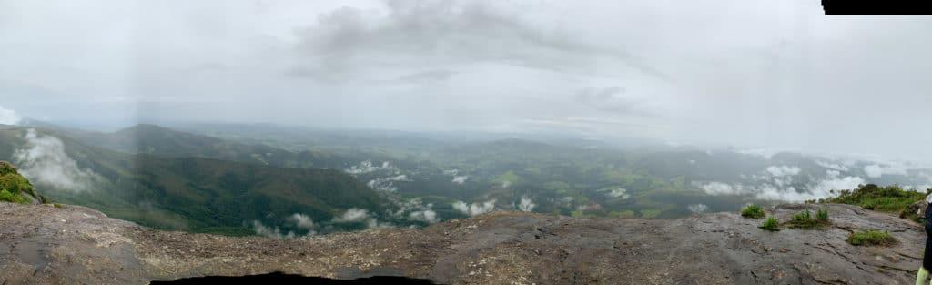 aiuruoca - vista panoramica do pico do papagaio