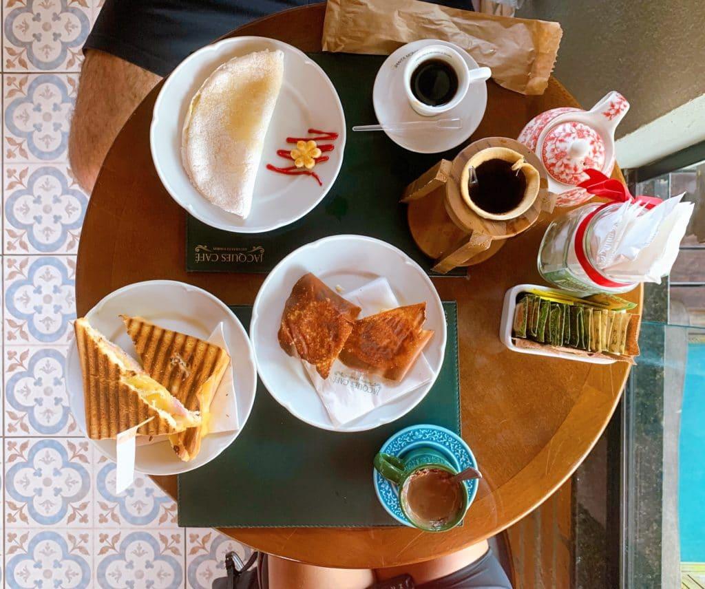 Nosso cafe da manhã delicioso