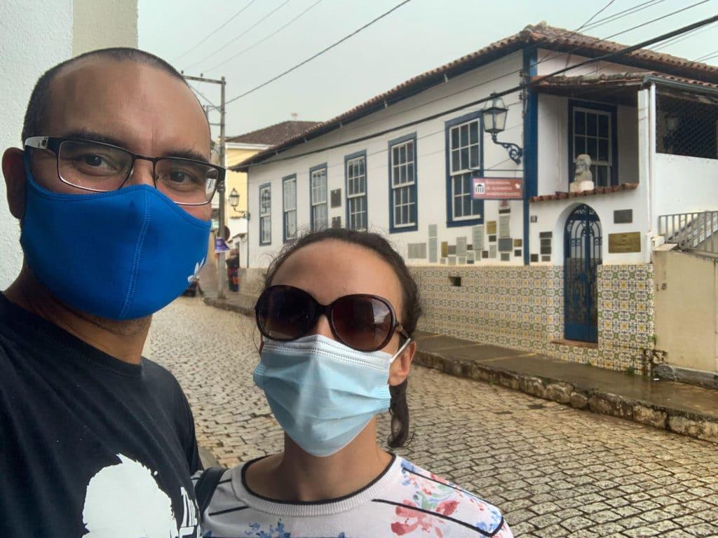 Entrada do Museu Doutor Júlio Arantes Sanderson de Queiroz