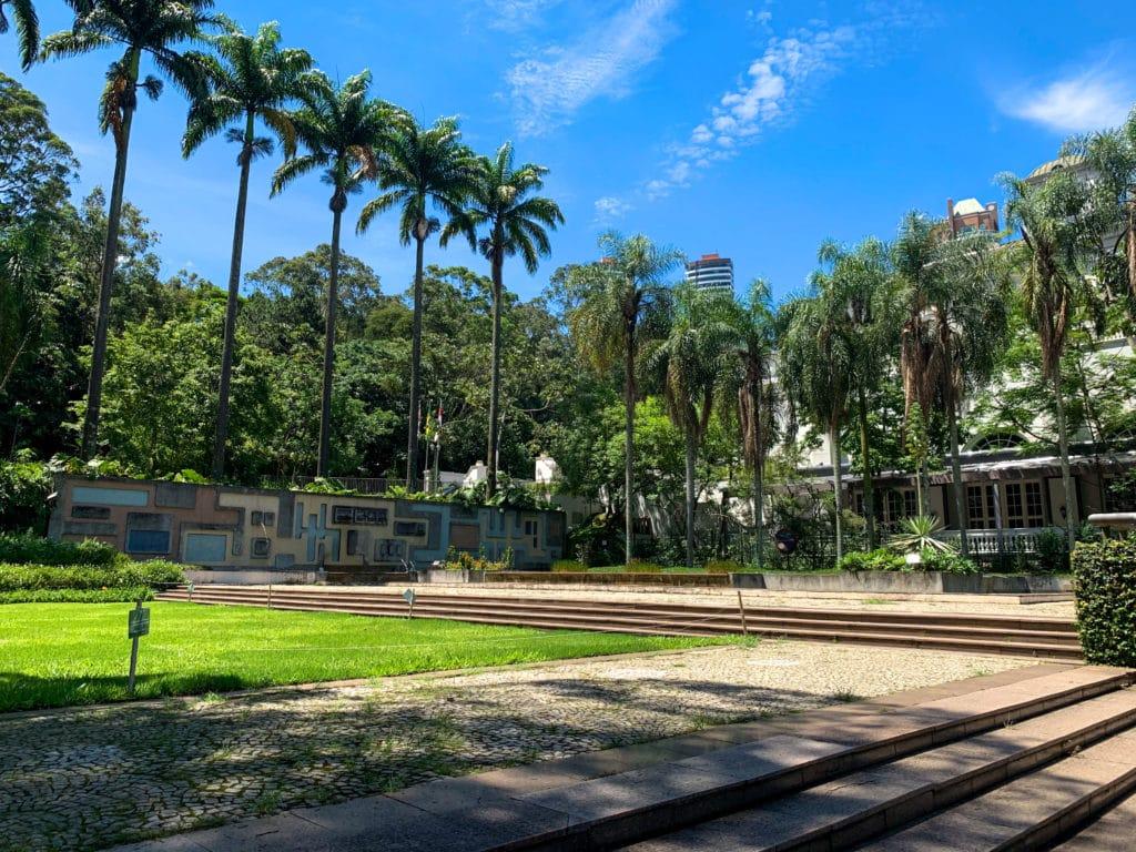 Jardim que Burle Marx projetou