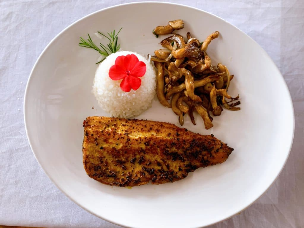 prato principal Restaurante Casal Garcia