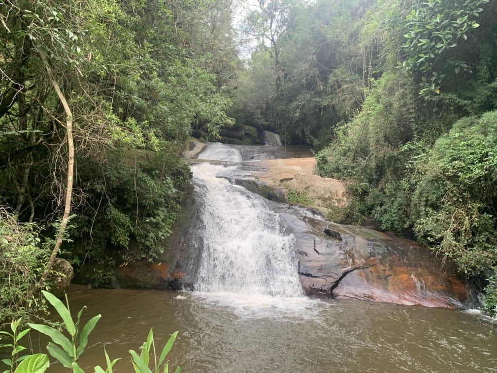 Cachoeira do Zé pena em Alagoa