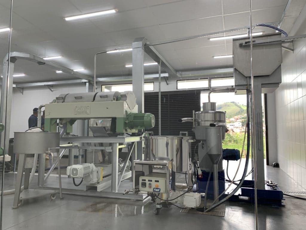 maquinas para separar as impurezas do azeite