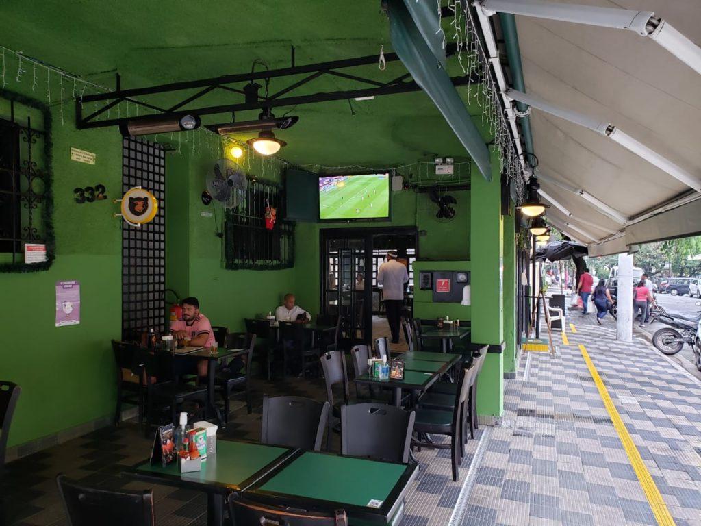 Bar do Juarez -Salão externo