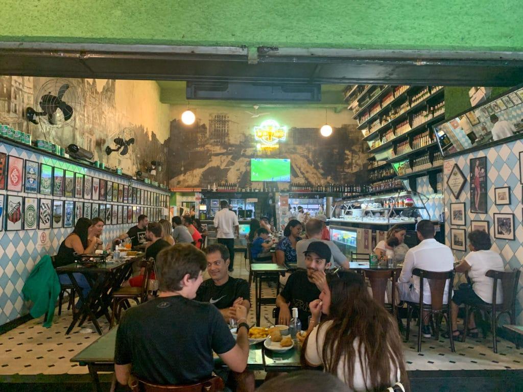 Bar do Juarez -Salão interno