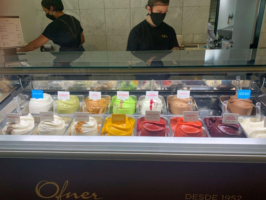 ofner - sorvetes